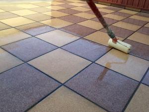 Holzfußboden Wasserdicht Machen ~ Terrassenboden beschichtung selber abdichten wasserdicht versiegeln
