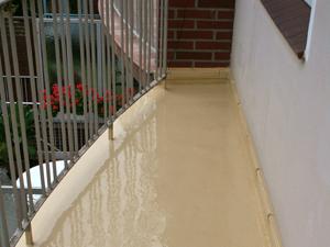 Beliebt Terrassenboden Beschichtung selber abdichten, wasserdicht versiegeln TU98
